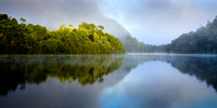 Early morning on the Pieman River, Tarkine
