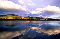 Huon River sunset