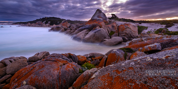 Dusk at the Bay of Fires